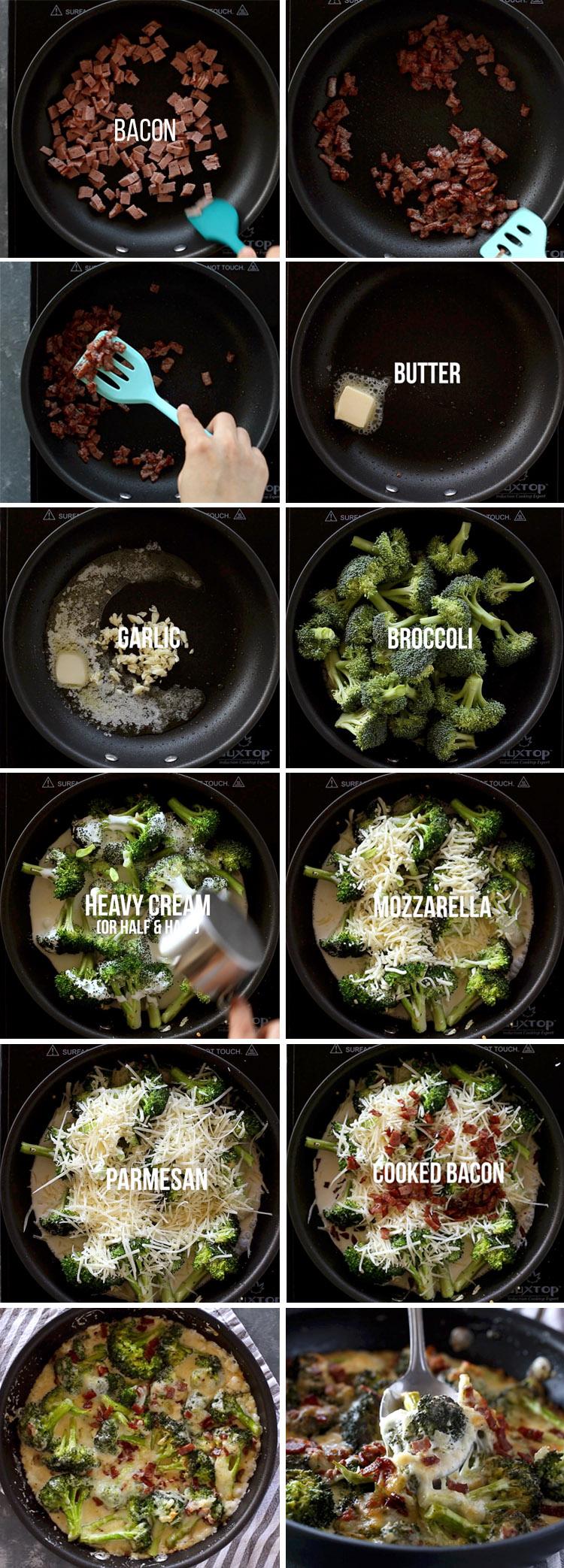 Keto Creamy Broccoli