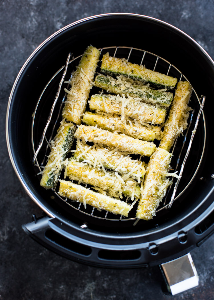 Air Fryer Zucchini Fries (Low Carb - Keto)
