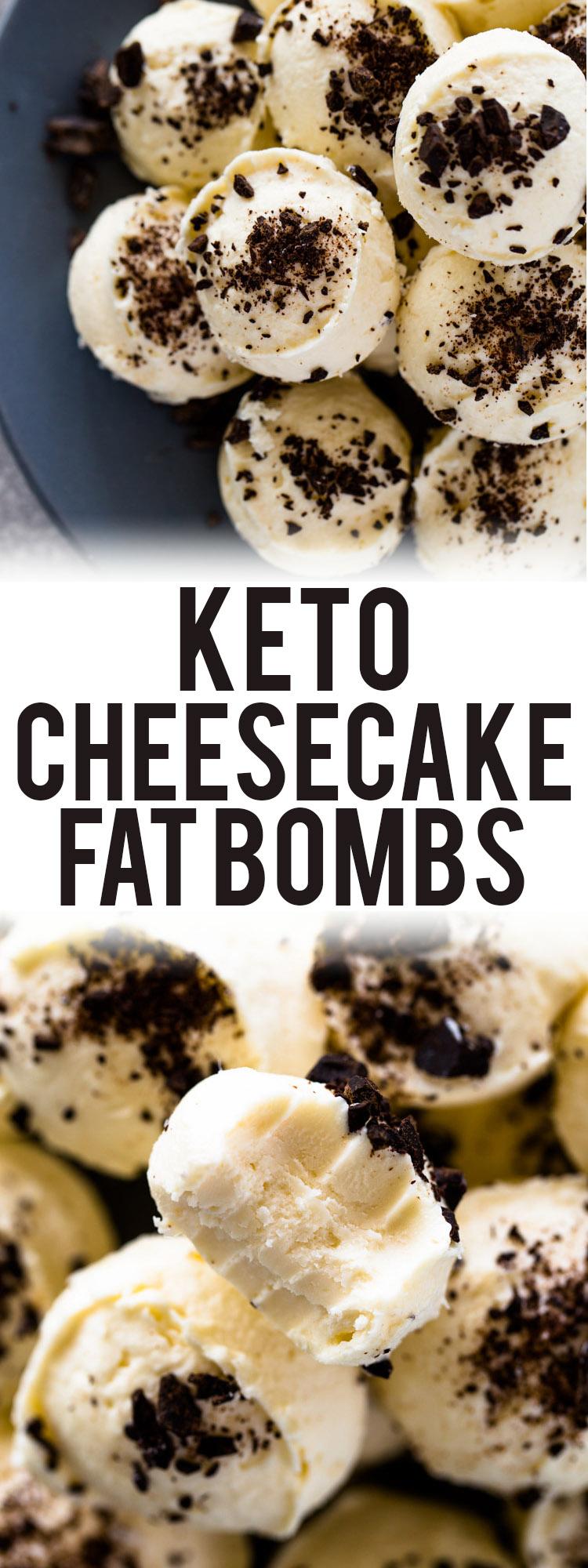 Keto Cheesecake Fat Bombs