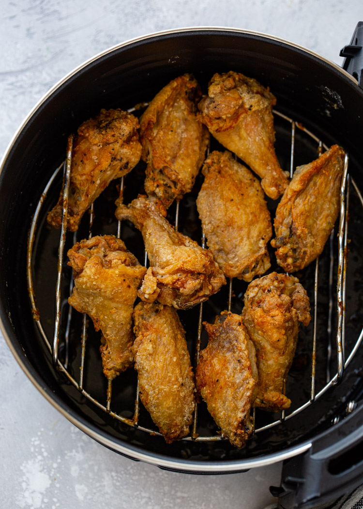 Crispy Air Fryer Chicken Wings 3 Ways Gimme Delicious