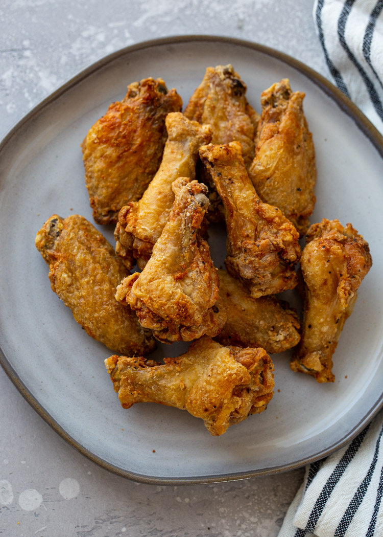 Crispy Air Fryer Chicken Wings (3 Ways!)