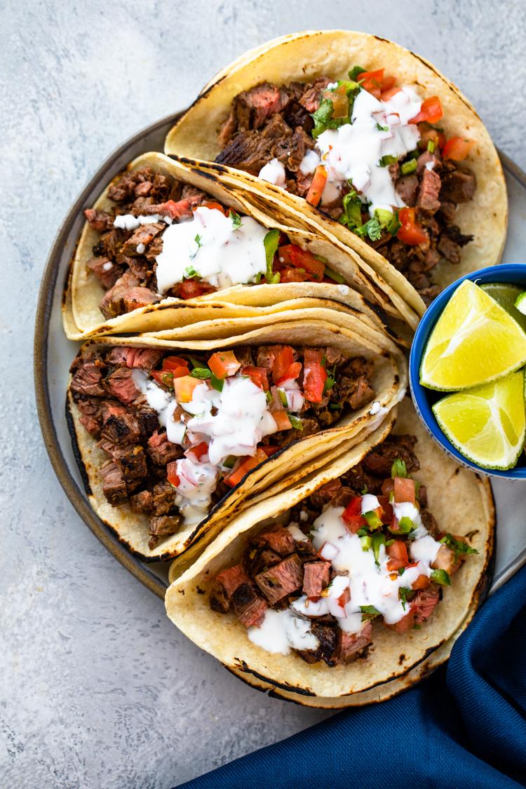 Carne Asada Tacos Gimme Delicious