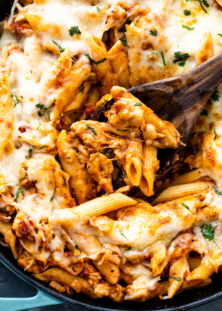 15 Minute Chicken Pasta Gimme Delicious