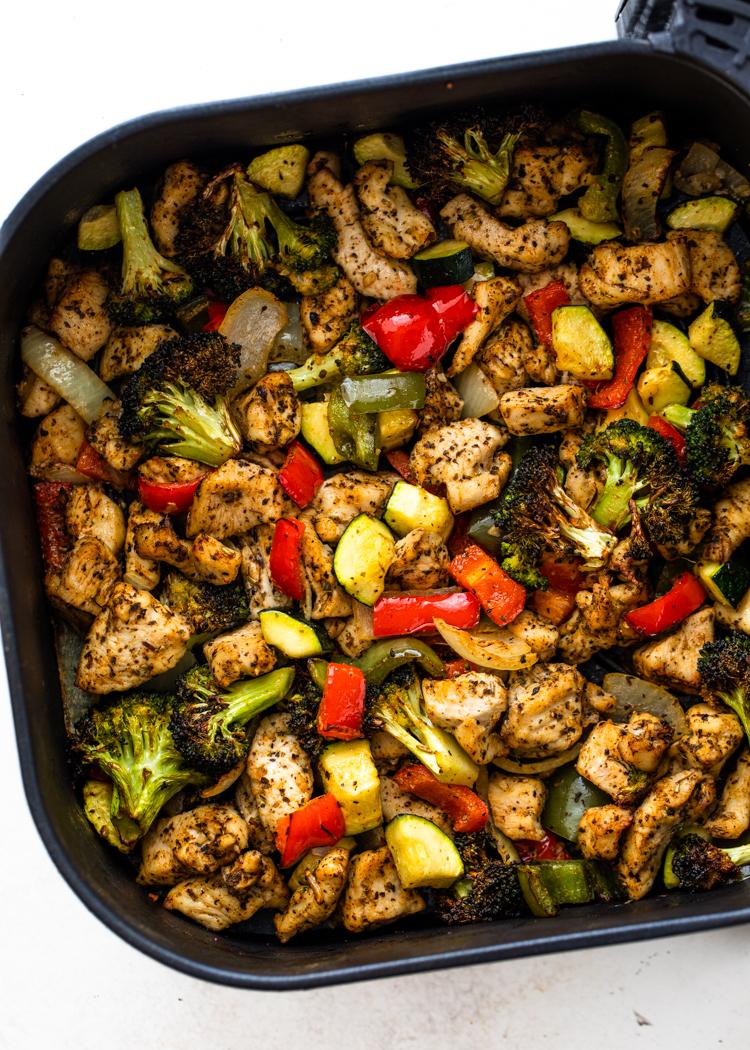 Air Fryer Chicken And Veggies