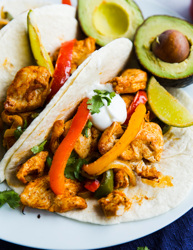 Sheet Pan Chicken Fajitas 30 Minute Gimme Delicious