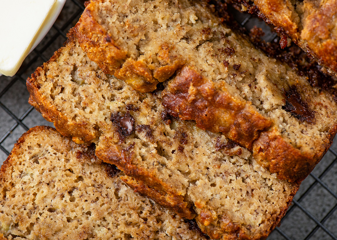 Almond Flour Banana Bread Gimme Delicious