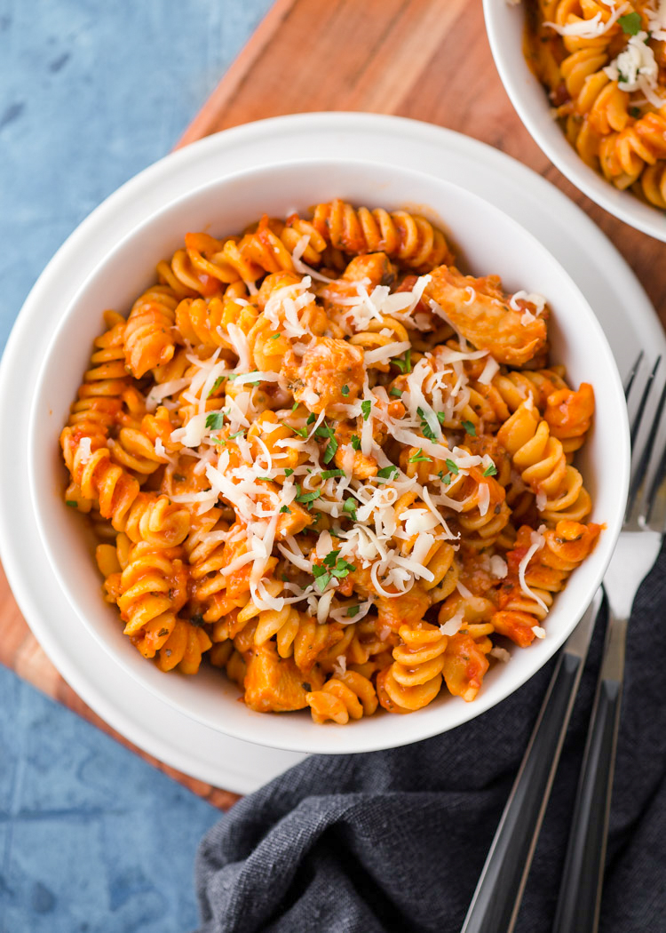 Instant Pot Chicken Pasta Gimme Delicious
