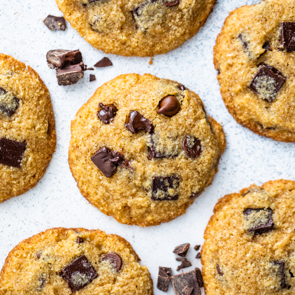 The Best Keto Chocolate Chip Cookies Gimme Delicious