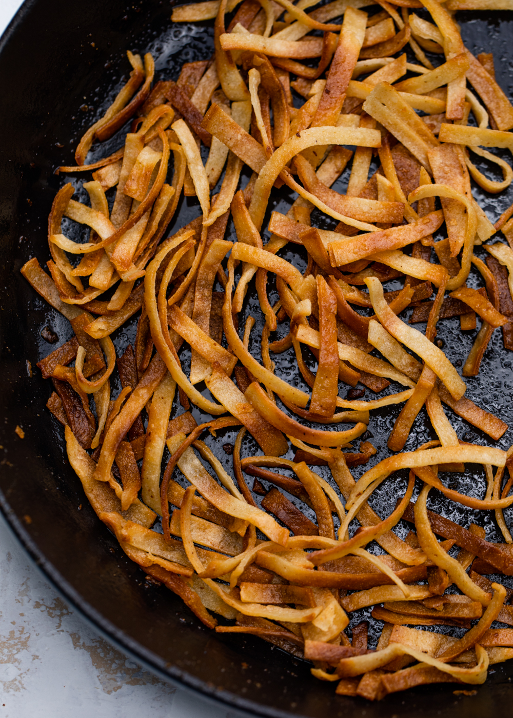 How To Make Crispy Tortilla Strips Gimme Delicious