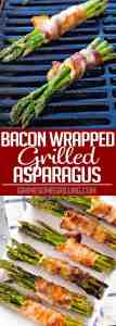 Collage Bacon Wrappe Asparagus
