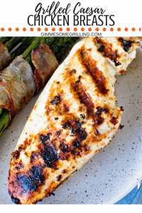 Grilled Caesar Chicken Breasts Collage 2