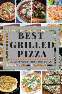 Grilled Pizza Recipes Collage