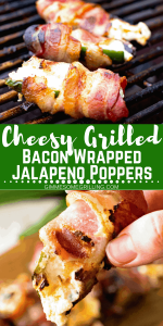 Cheesy Grilled Bacon Wrapped Jalapeno Poppers 2
