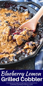 Cast Iron Cobbler Pinterest Image