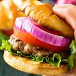 Best Hamburger Recipe in hand