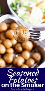 seasoned potatoes pinterest collage