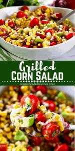 Grilled Corn Salad Pinterest