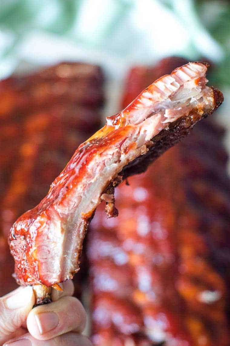 Easy Smoked Ribs piece