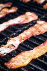 Traeger Bacon on smoker
