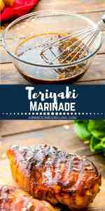teriyaki marinade Pinterest 1