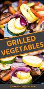 GRILLED VEGETABLESPins