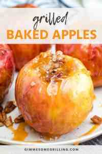 baked apples on grill RECIPE New Pins