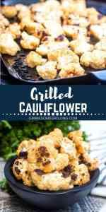 grilled cauliflower Pinterest 1