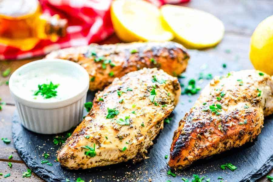 easy Greek Chicken Marinade