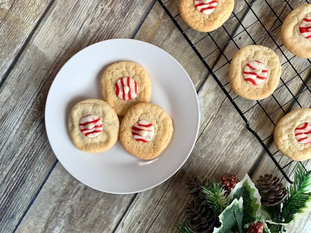 Holiday peppermint sugar cookie recipe