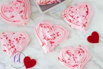 Pink Heart Meringues Crazy Adventures in Parenting