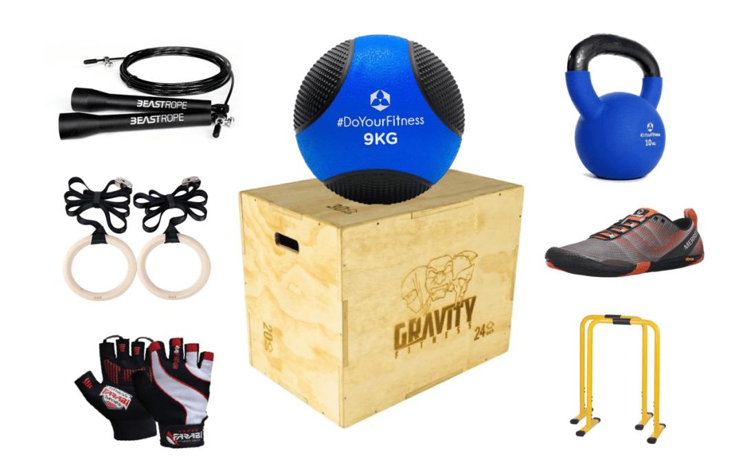 Material Crossfit: el mejor equipamiento para entrenar en casa