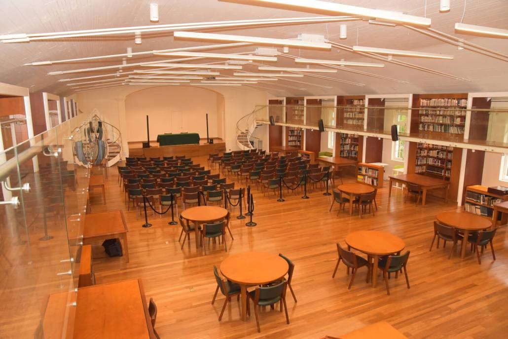 Instalaciones de la nueva Biblioteca
