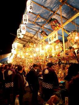 花園神社の酉の市の屋台と時間を詳しく紹介