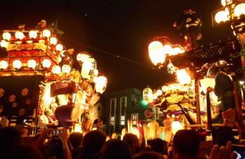 川越祭り昼と夜の違いは?開催される日程はいつ?