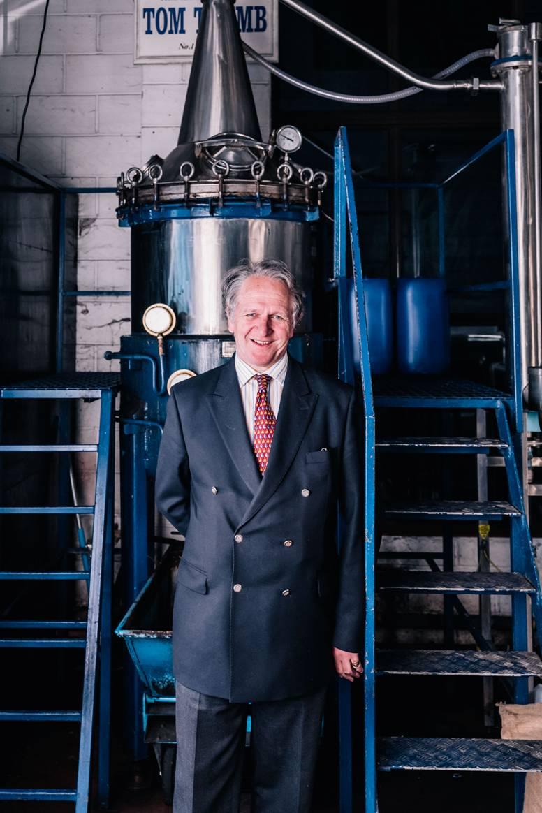 Charles Maxwell at Thames Distillers