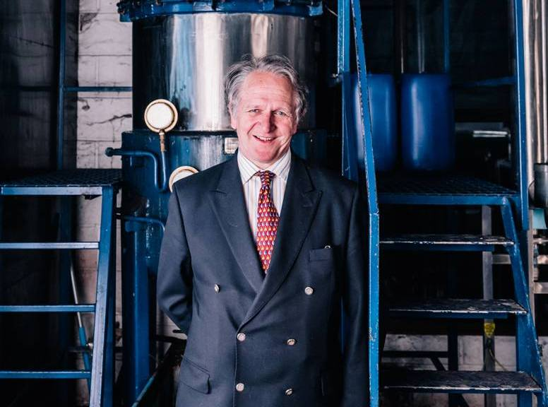 Charles Maxwell at Thames Distillers
