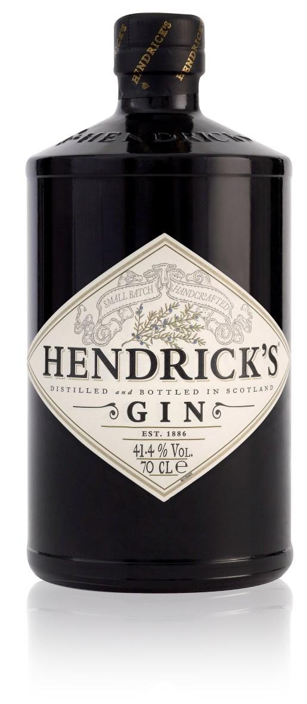 Hendricks-bottle