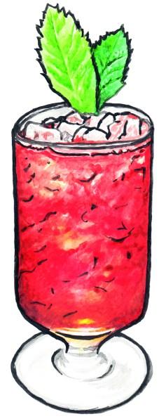 Gin Magazine #7 - Negroni Variations - Julep Negroni