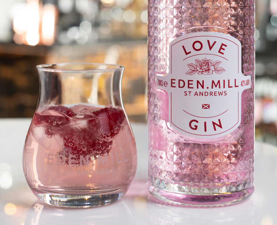 Eden Mill Love Gin new bottle