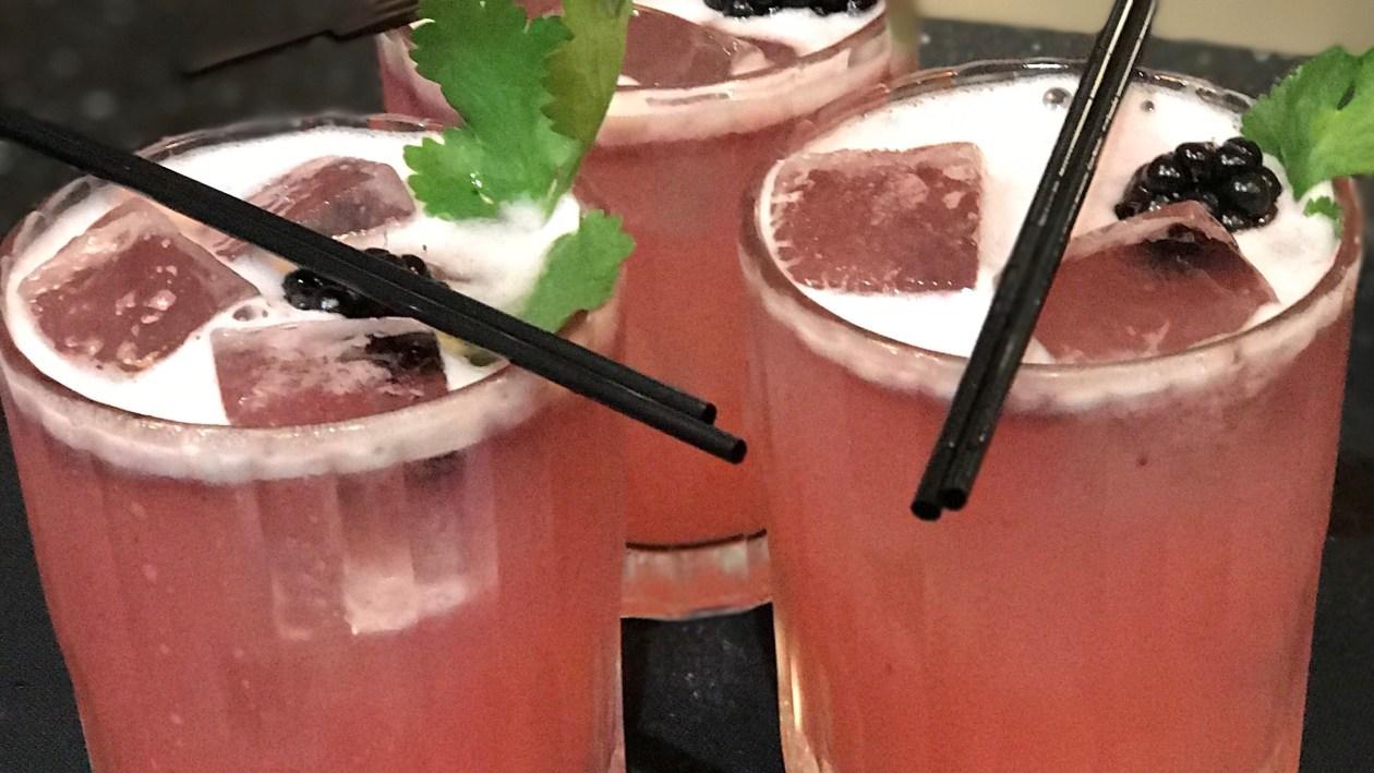 Bison Bramble cocktail