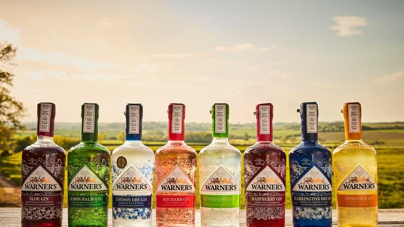 Warner's gin range