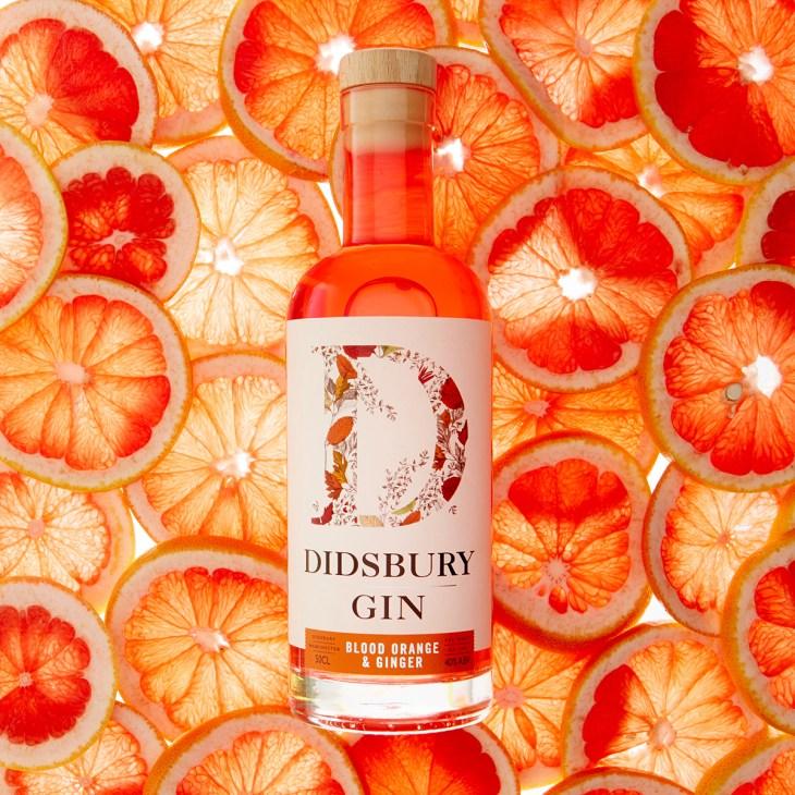 Didsbury Gin's Blood Orange and Ginger Gin