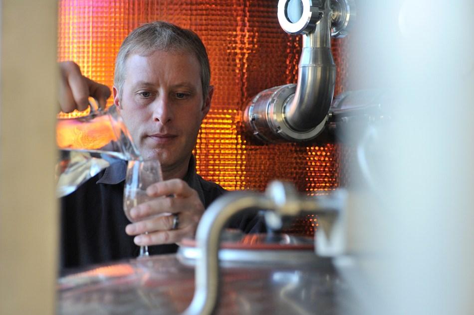 John McCarthy head distiller at Adnams