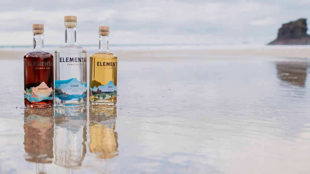 Elemental Cornish Gin range