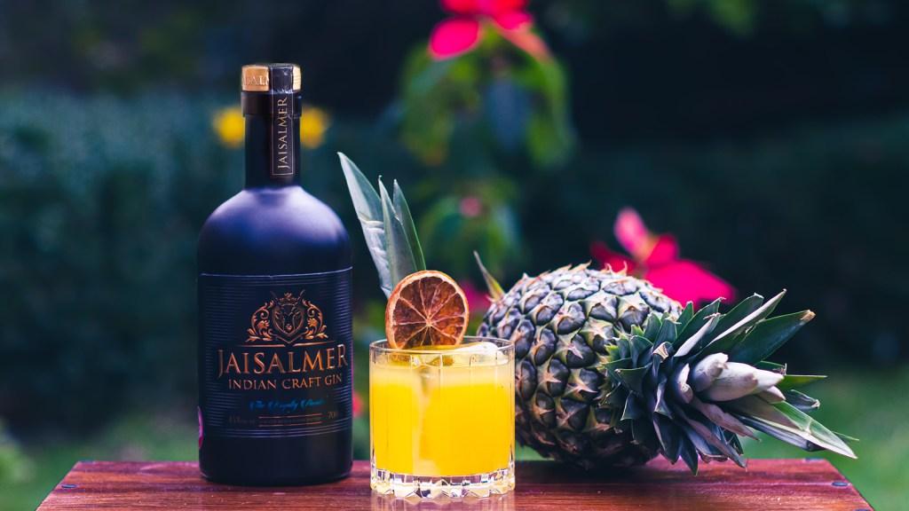 Jaisalmer Gin Golden Sunset cocktail