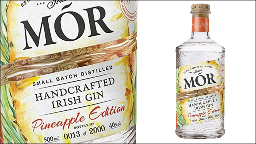 Mór Pineapple Edition Gin