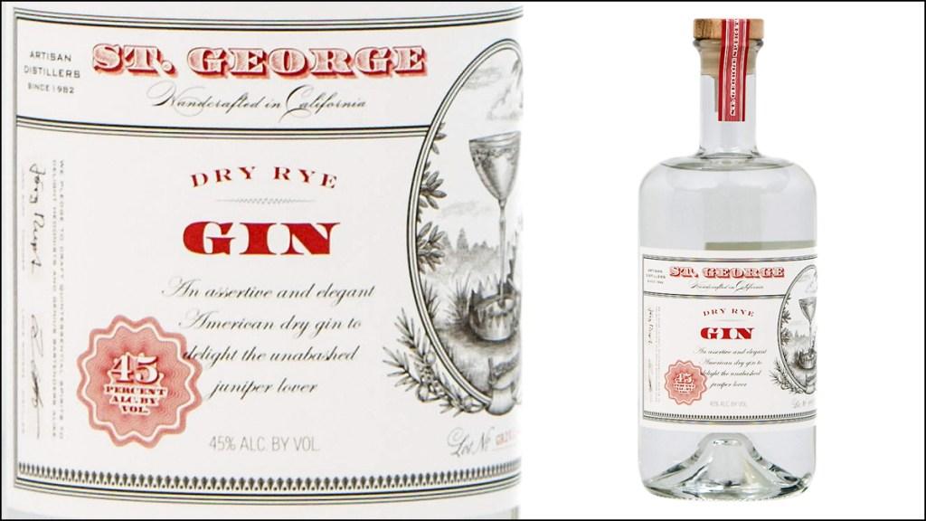 St George Spirits Dry Rye Gin