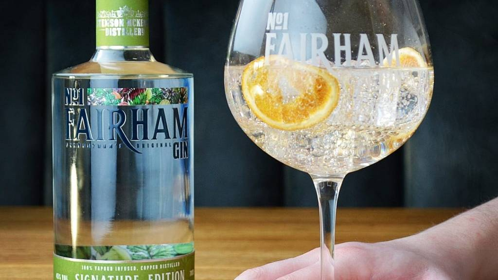 A serve with No.1 Fairham Signature Gin
