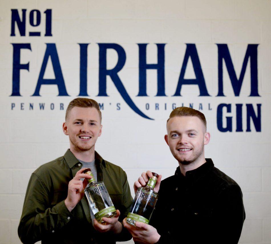 Liam Stemson (left) and Ellis McKeown, founders of No.1 Fairham Gin