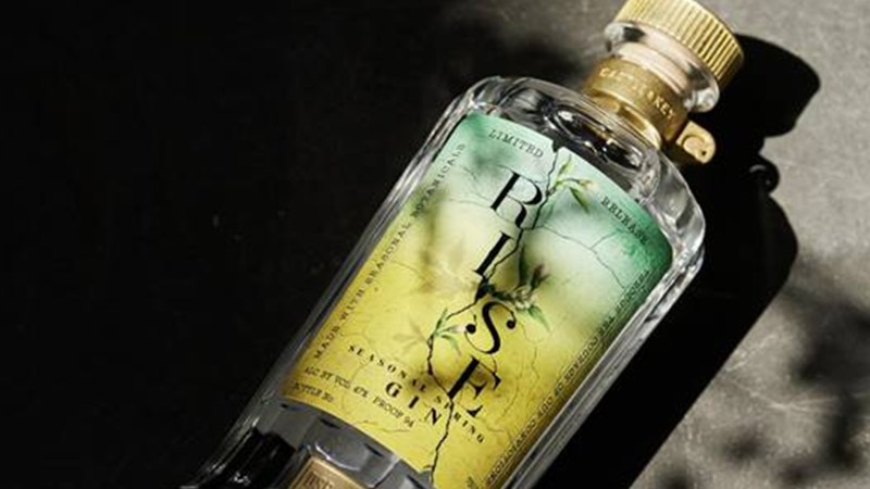 Castle & Key Rise 2021 Seasonal Spring Gin